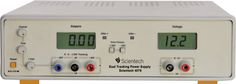 """Scientech 4076 Dual Tracking DC Power Supply is designed as a Constant Current (CC) and Constant Voltage (CV) source for use in Laboratories, Industries and Field Testing. With compact size, light weight and low power loss, it provides DC output voltages for Analog and Digital testing. The DC output can be adjusted from 0 to � 30V with Coarse and Fine controls. Current limit is adjustable from 0 - 2A. Overloading is indicated by """"ORA"""" and """"ORB"""" LEDs. Window (voltage & current) displays can…"""