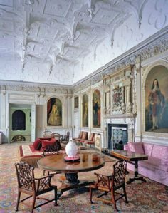 Audley End House Historic Mansion in England