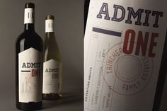 Admit One | Designer: Amanda Smith