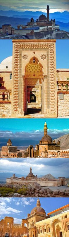 Beautiful Highlights/Views of Ishak Pasha Palace Islamic Architecture, Historical Architecture, Places To Travel, Places To Visit, Nature Landscape, Destinations, Turkey Travel, Ottoman Empire, Istanbul Turkey