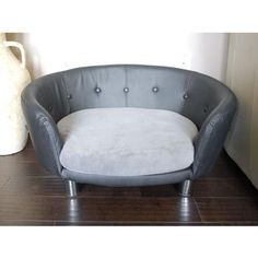 Isidore Dog Couch  - For the furry couch potato with contemporary taste :)