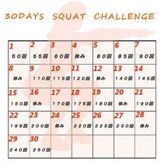 30日スクワットに挑戦してみました。結果、ヒップが上がりふくらはぎが細くなり、腹筋と背中にも変化が見られました。ただし、やり方を間違えると逆効果にもなりかねません。30日スクワットチャレンジの注意点などまとめてみます。