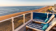 Blue—Inn on the Beach   From chic glampgrounds to hidden beaches, these off-the-radar spots are waiting for you right in your own backyard.