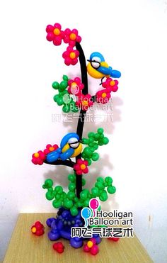 Birds in a Tree Centerpiece - Источник интернет