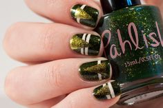 Pahlish Hoodies, Leaves and S'mores! Nail Art