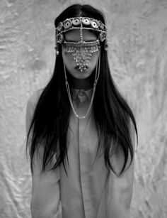jeweled mask