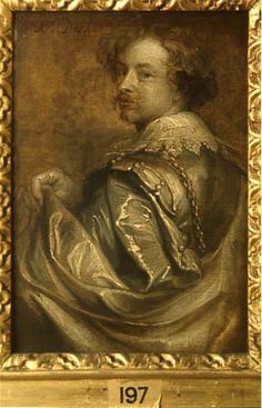 Portrait of the Artist (1599-1641)  by Anthony Van Dyck (1599-1641).
