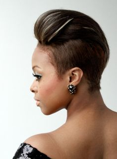 Phenomenal Mohawk Hairstyles Mohawks And Hairstyles For Black Women On Pinterest Short Hairstyles For Black Women Fulllsitofus