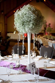 baby breath ball centerpiece | Bloom Designs, Kate Kuepers: Babies Breath Centerpieces