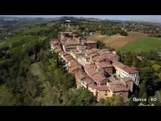 Dozza, the village seen by the drone Video, City Photo, Murals