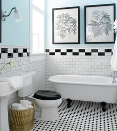 black and white vintage bathroom photos - Saferbrowser Yahoo Image Search Results