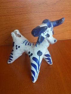 Antiguo silvato de ceramica ANDUJAR