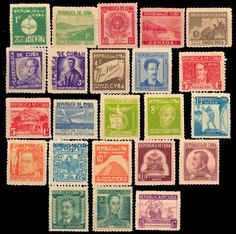 Cuban Postal Stamps, Collectibles