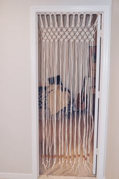 Macrame Door Curtain Boho decor Teen by AnythingisImaginable