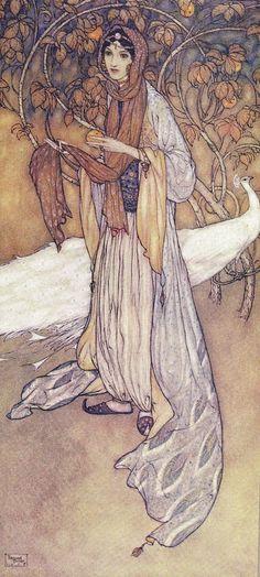 ✯ Arabian Nights :: Edmund Dulac -1907- ✯