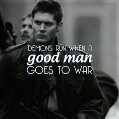 When a demon goes to sleep at night, he checks his closet for Dean Winchester.