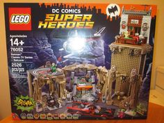 cool LEGO DC Comics Tremendous Heroes Batman Traditional TV Collection Batcave Set 76052 New Check more at https://aeoffers.com/product/baby-toys-and-games-clothing-shoes/lego-dc-comics-tremendous-heroes-batman-traditional-tv-collection-batcave-set-76052-