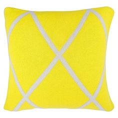 Diamond Cushion by Aura by Tracie Ellis - available in orange as well