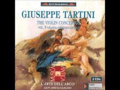 Tartini: Violin Concertos Vol 9 - YouTube