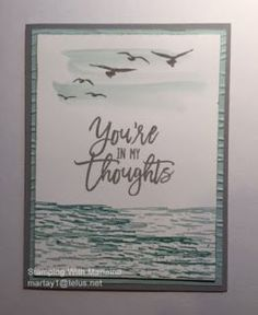 Stamping With Marlaine: Stampin' Up! High Tide Stamp Set