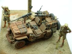 Tamiya 1/35 scale SAS jeep - February 2013 - Online Reader Gallery - FineScale Modeler - Finescale Modeler Community
