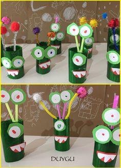 Crafts To Make, Crafts For Kids, Arts And Crafts, Science Projects, Projects To Try, Ufo, Art For Kids, Kindergarten, Seasons