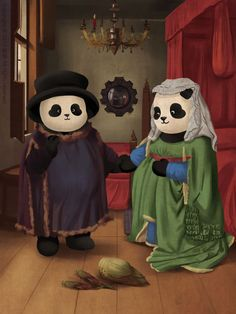 10 Famous Paintings That Look Better With Pandas