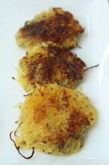 Spaghetti Squash Hashbrowns (Page 48) #lowcarb #paleo #eggfree #keto #veggies