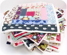 Attaching the Quilt As You Go Blocks Together ... I NEED this tute SO badly!.