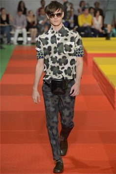 Kenzo - Men Fashion Spring Summer 2013 - Shows - Vogue.it