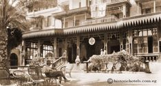 Mena House Hotel Cairo Egypt ca 1890.