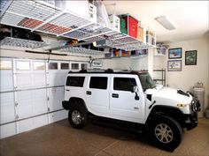 overhead garage storage electric