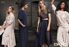 Cara Delevingne, star de la campagne DKNY Croisière 2015 | Femina