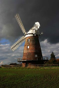 Windmill with Fantail - John Webb's Mill,Thaxted,Essex UK