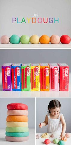 Or make your own scented play dough.