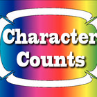 FREE! These are seven posters with character words to use in the classroom to go along with Character Counts or other character education programs.  FREE!