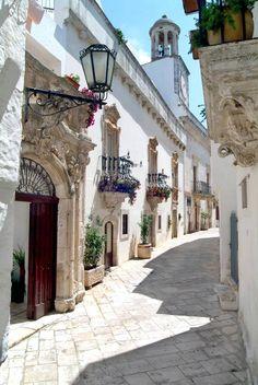 Puglia, Italy~~ Where mom was born.... still so rustic..