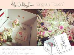 #Myweddingbox English Touch #fleurs #mariage #bouquet de mariée #francefleurs