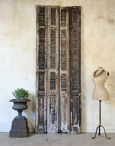 shutter love...exactly the ones I need for between the living & dining room...
