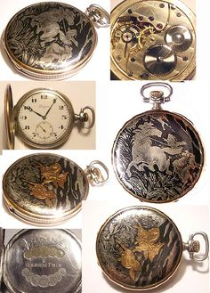 Pocket watches for pocket or hang from a necklace~  Reminds me of my daddy, he always carried a pocket watch.
