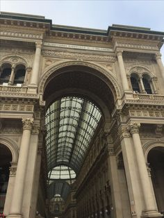 The Galleria Vittorio Emanuel II, world renowned shopping in the hearth of Milan, Italy.