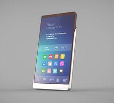 The most beautiful designed smartphone - Bella concept smartphone Yanko Design, Power Rangers, Telephone, Homescreen, Most Beautiful, Smartphone, Gadgets, Concept, Product Design