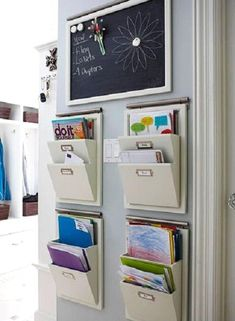 Paperwork Organizer (Home). This will work in my laundry room or will this work on a cabinet?