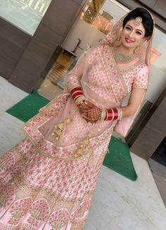 Designer Bridal Lehenga, Indian Bridal Lehenga, Indian Bridal Outfits, Indian Bridal Fashion, Indian Bridal Wear, Indian Designer Outfits, Indian Dresses, Indian Wear, Indian Attire