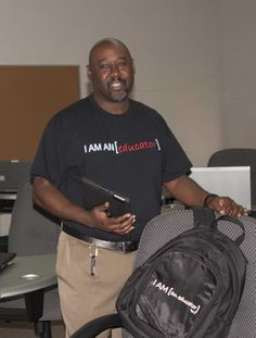 Are your bags packed for ISTE 2013 in San Antonio? If you have an I AM [an educator] t-shirt, don't forget to pack and wear it to get a free backpack!