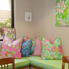 Portion of the American Cancer Society's Hope Lodge facility in Atlanta that our Print Designers redecorated
