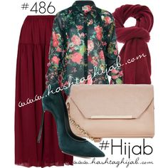 Hashtag Hijab Outfit #486 by hashtaghijab on Polyvore featuring Goldie, Casadei, Inverni and hijab