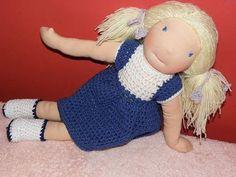 Basia  waldorf doll  45cm by LeluszkaWaldorfDoll on Etsy
