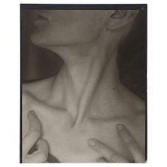and this one: Georgia O'Keeffe—Neck by Alfred Stieglitz, 1921 Alfred Stieglitz, Straight Photography, Art Photography, Georgia O Keeffe, Gelatin Silver Print, Lake George, Art Institute Of Chicago, Cool Tones, Skin Case
