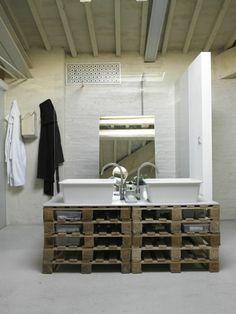 badezimmermöbel aus paletten wohnmöbel